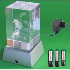Lyssokkel SY-15 Hvidt lys 230 V / Batteridrift